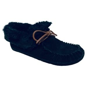 ZEALAND | Malorie Leather Moccasin Fur Lined 6